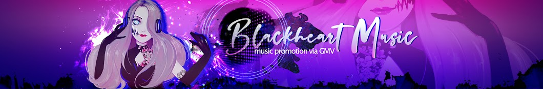 Blackheart Music Banner