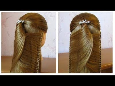 Coiffure Pour Tous Les Jours Cheveux Mi Long Long Coiffure Avec