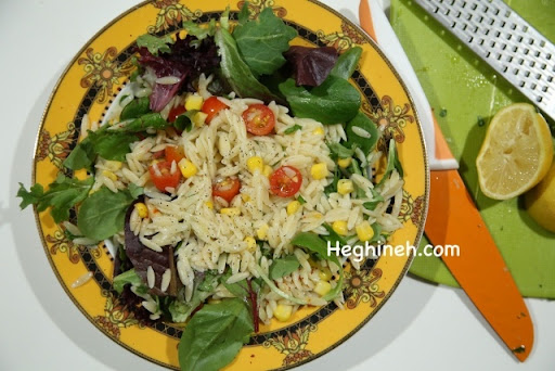 Orzo Salad Recipe - Heghineh Cooking Show with Lilyth