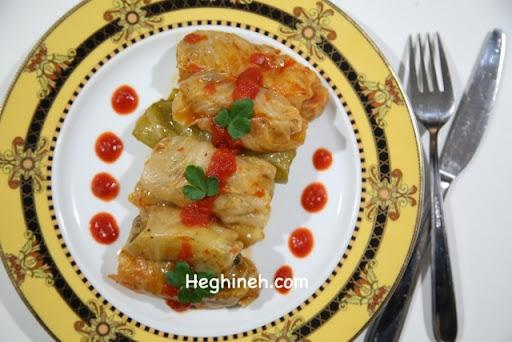 Կաղամբով Կարտոֆիլով Տոլմա - Pickled Cabbage Potato Tolma - Heghineh Cooking Show in Armenian