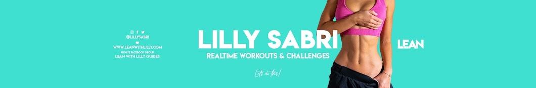 Lilly Sabri Banner