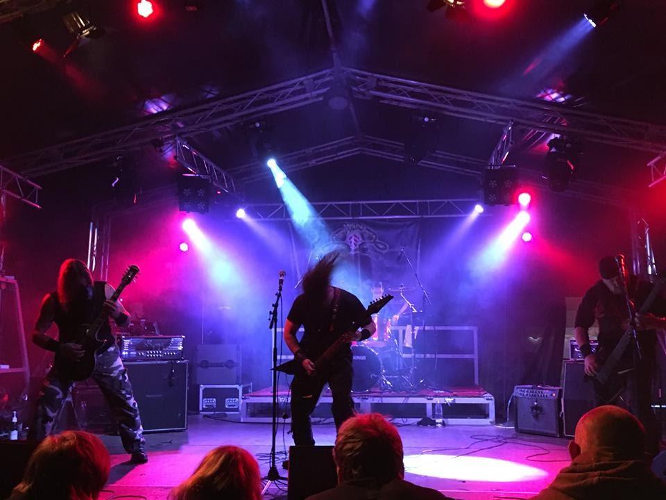Trapjaw live at Fest Evil Manrode Festival 2017