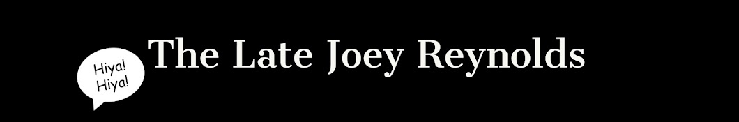 The Late Joey Reynolds Banner