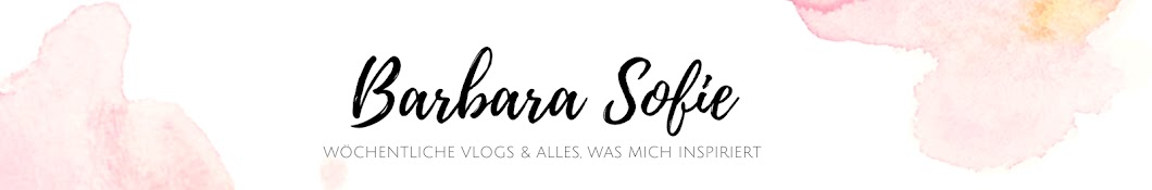 BarbaraSofie Banner