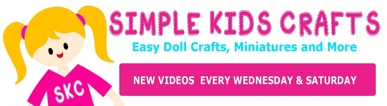 Doll Clothes - No Sew & No-Glue Barbie, Monster High & Ever