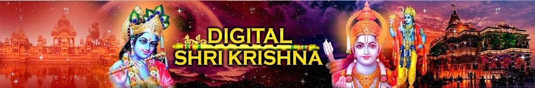Digital Shri Krishna Banner