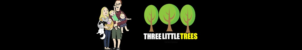 Three Little Trees Banner