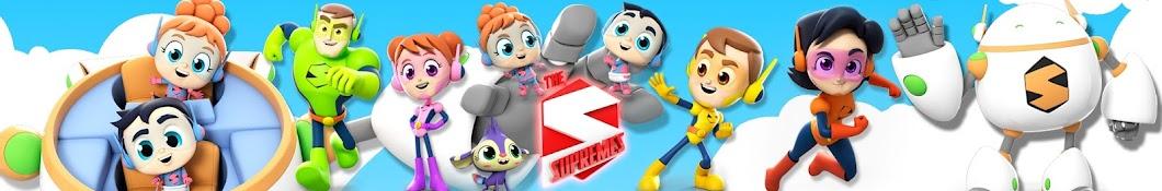 Super Supremes - Nursery Rhymes & Kids Songs Banner