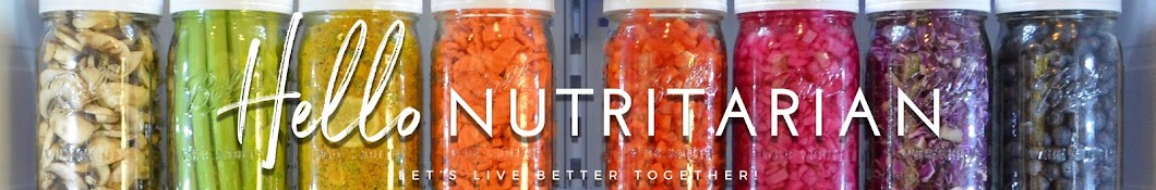 Hello Nutritarian Banner