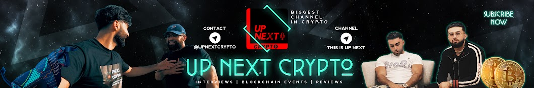 UP NEXT CRYPTO Banner