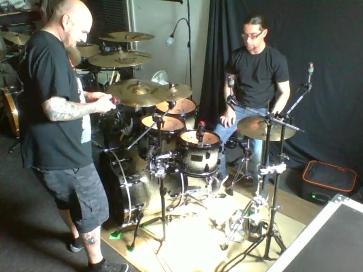Drumkit engineering at Hell's Kitchen Studio 2018