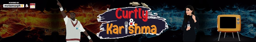 The Curtly & Karishma Show Banner