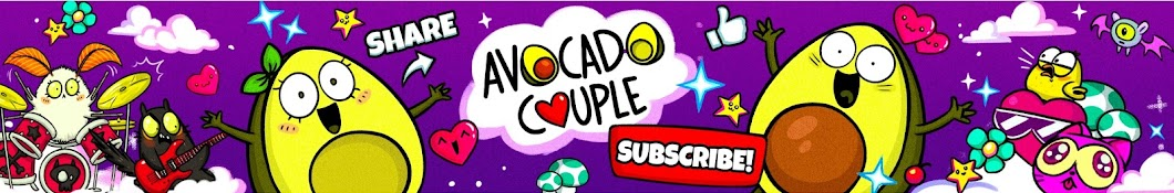 Avocado Couple I Crazy Comics