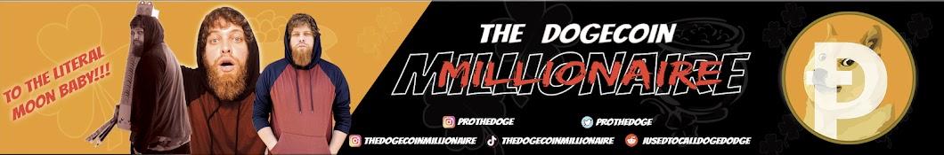 The Dogecoin Millionaire Banner