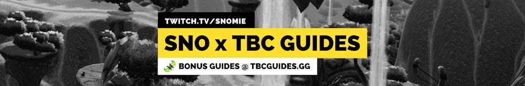 SNO x TBC GUIDES x ROGUECRAFT Banner