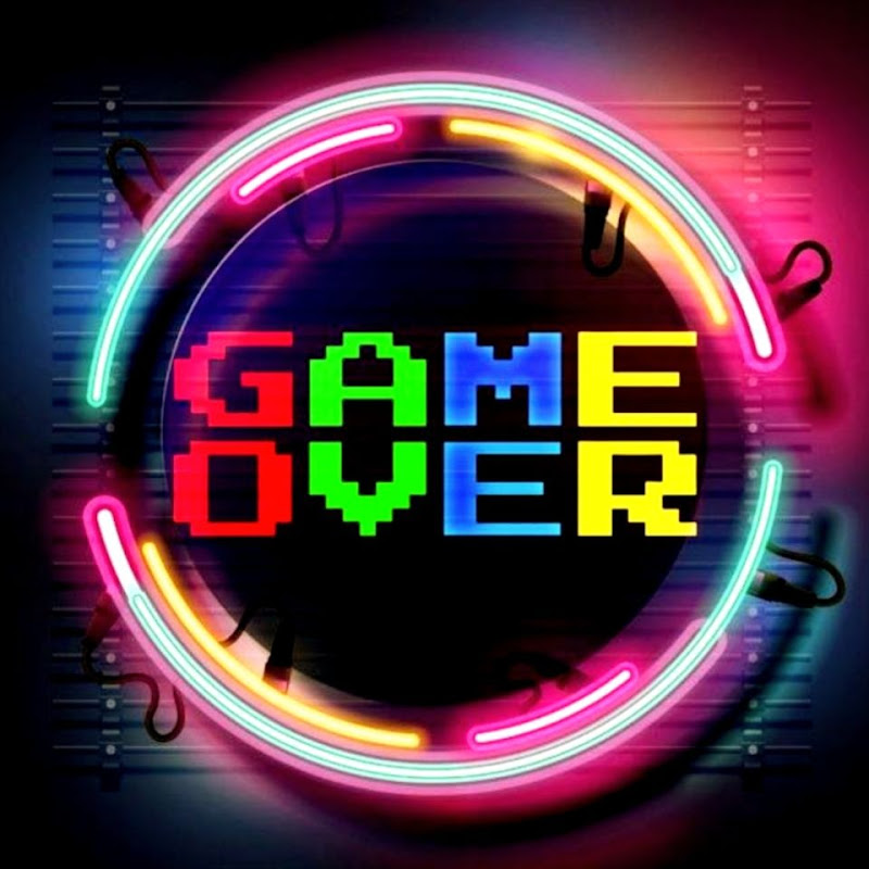Logo for GAME OVER 춤 Cover Dance
