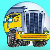 Cars Trucks Cartoons