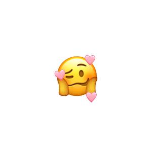 emoji pink and a pink music