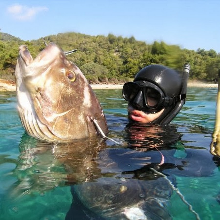 Shallow Spearfishing by
