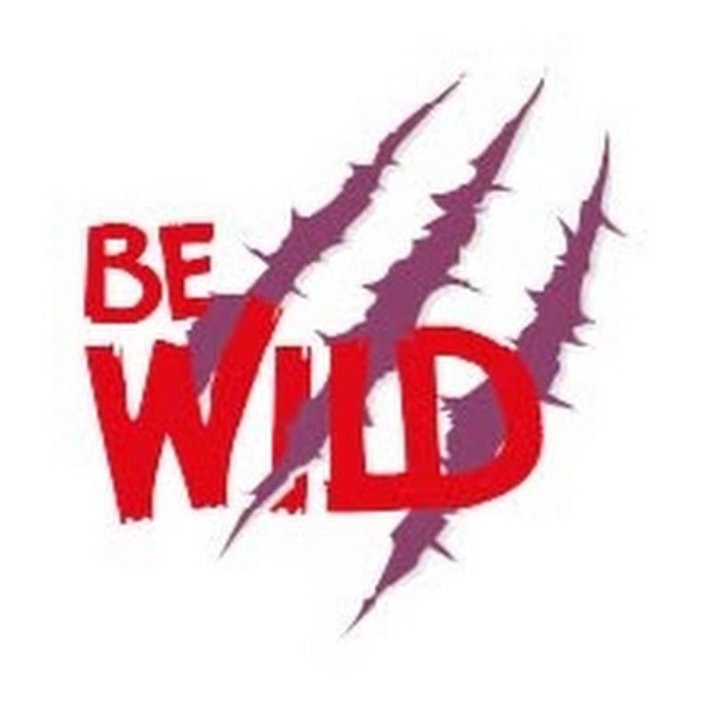 Logo for BE WILD