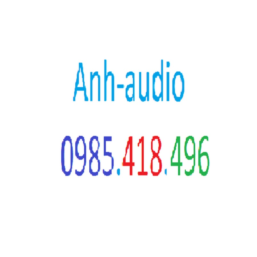 Anh audio