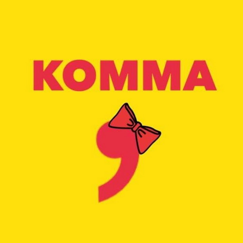 Logo for 逗號小姐KOMMA