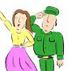 軍曹と歩兵