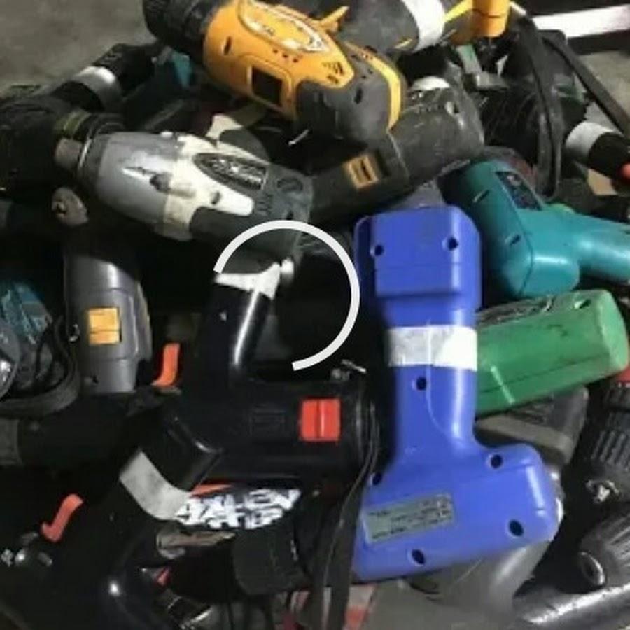 Máy khoan pin cũ