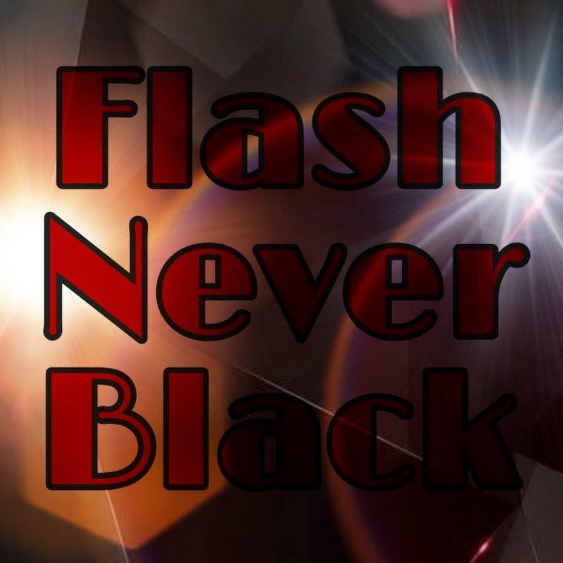 Logo for Flash Never Black