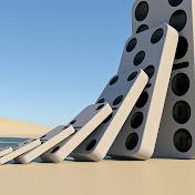 Domino effect simulation net worth