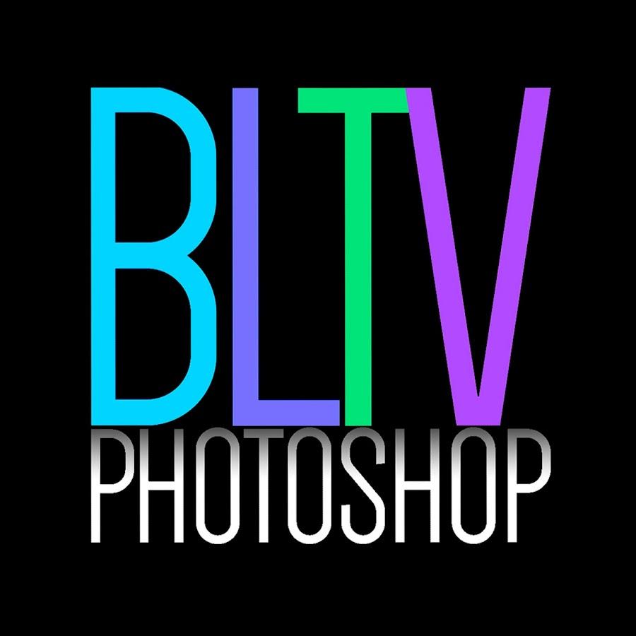 Blue Lightning TV Photoshop