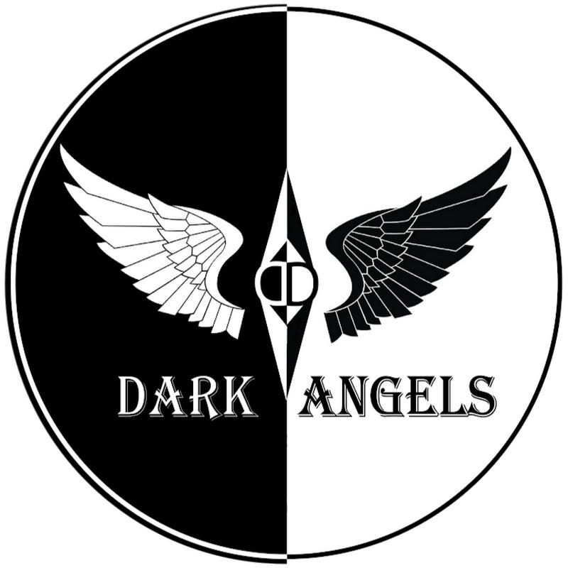 Logo for Dark Angels Dance Team