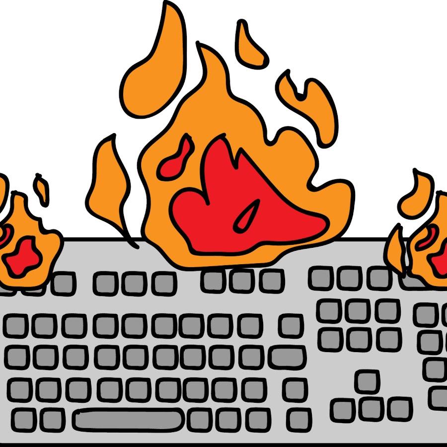 Burning Keyboard