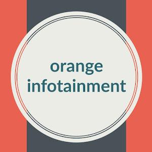 orange infotainment