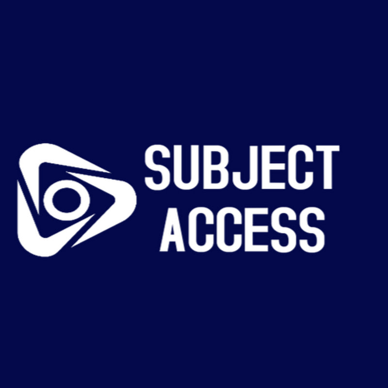 Subject Access (subject-access)