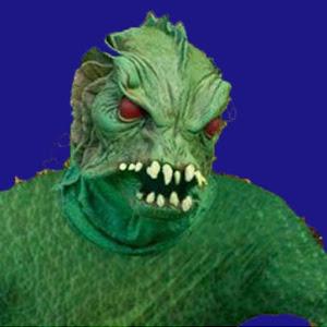 Pond Monster Exposing