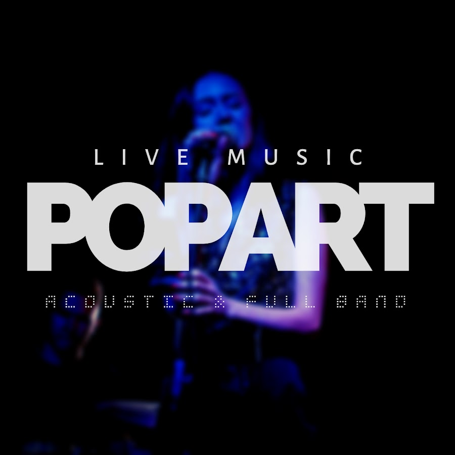 POPART live music YouTube channel avatar