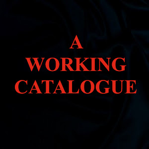 A Working Catalogue