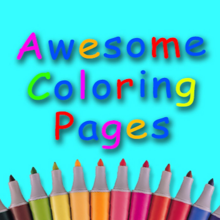 Awesome Coloring Pages Youtube