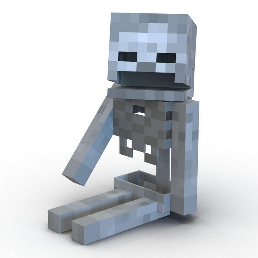 Майнкрафт скелет