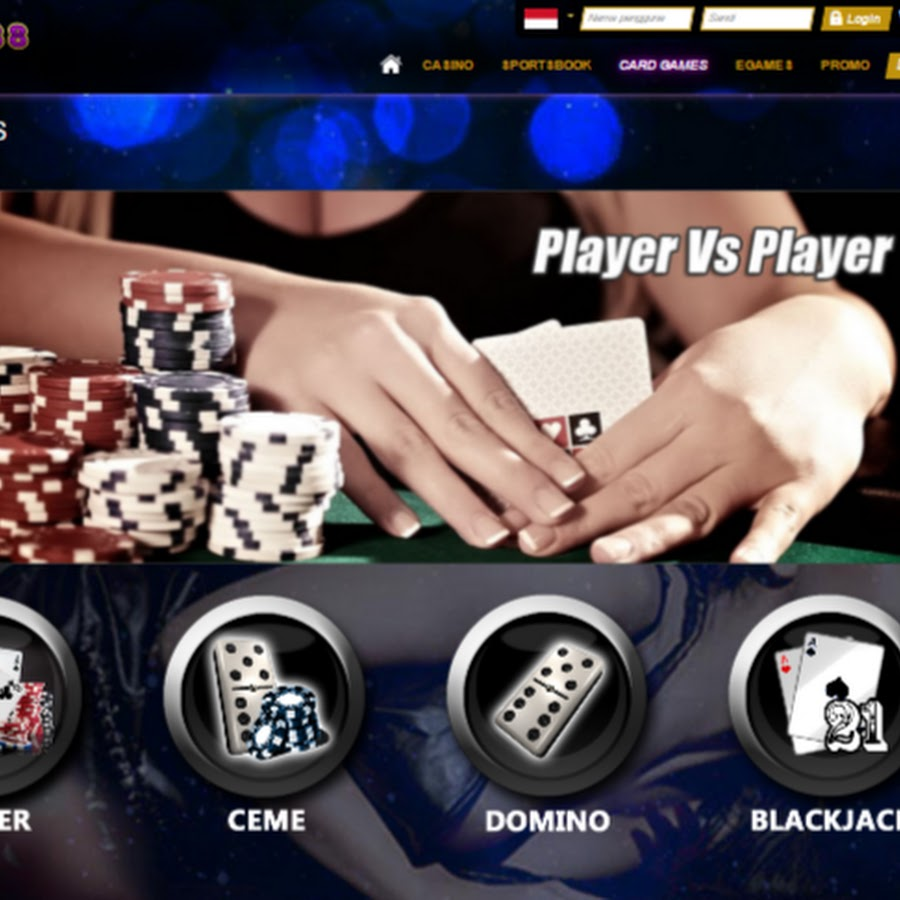 Kasino88 Agen Judi Poker Online Terpercaya Youtube