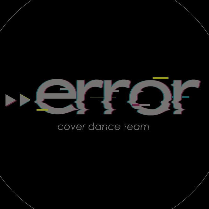 Logo for ERROR • Cover Dance Team