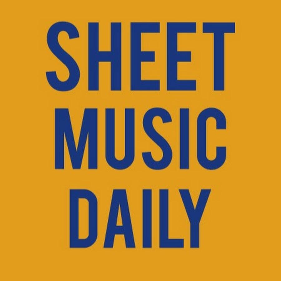 Sheet Music Daily Youtube