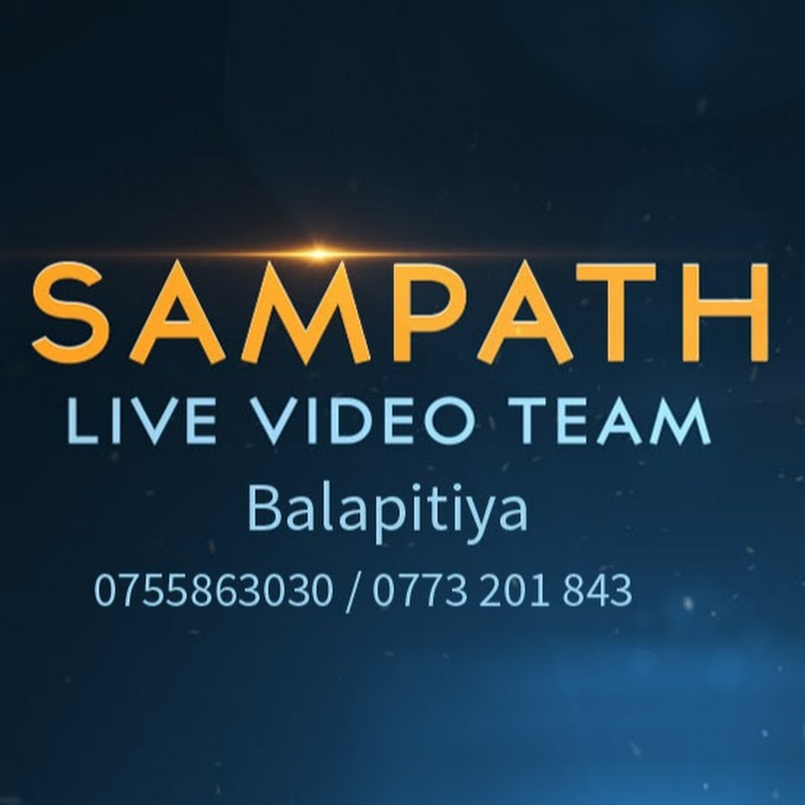 Sampath Live Video Team