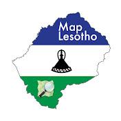 Map Lesotho net worth