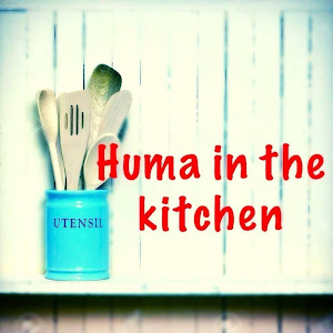Huma in the kitchen