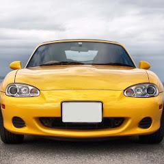 SSKの黄色いロードスター
