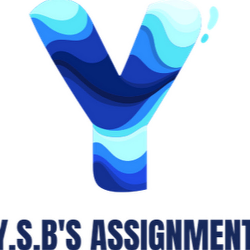Y.S.B Assignment (y-s-b-assignment)