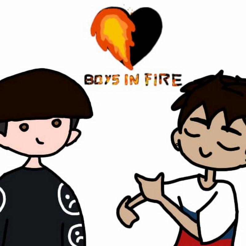 Logo for Boys In Fire