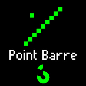 Point Barre: Édition Pixel